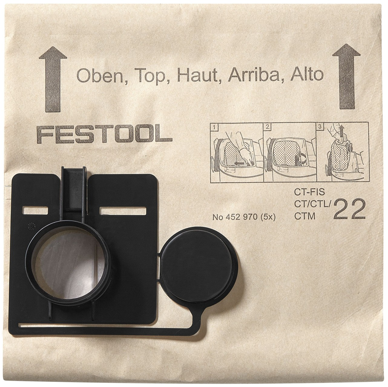 Festool Zweilagiger Filtersack FIS-SR 5/6 /5
