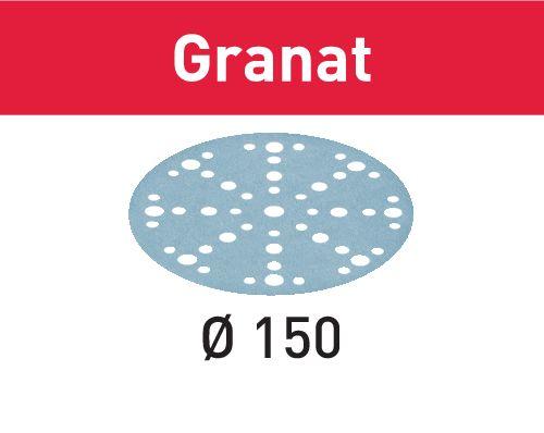 Festool Schleifscheibe STF D150/48 P180 GR/100 Granat