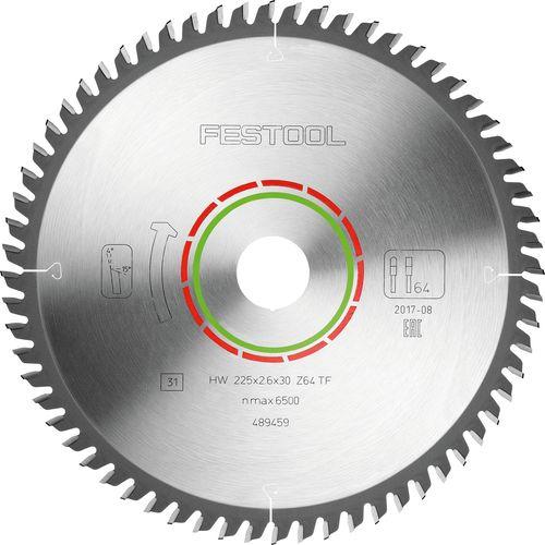 Festool Spezial-Sägeblatt 225x2,6x30 TF64