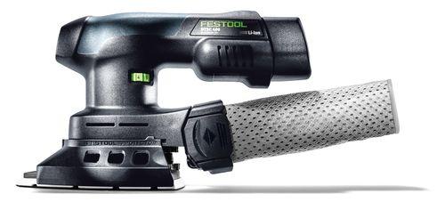 Festool Akku-Deltaschleifer DTSC 400 Li 3,1-Set, 575703, 2 Akkus + Ladegerät + Systainer