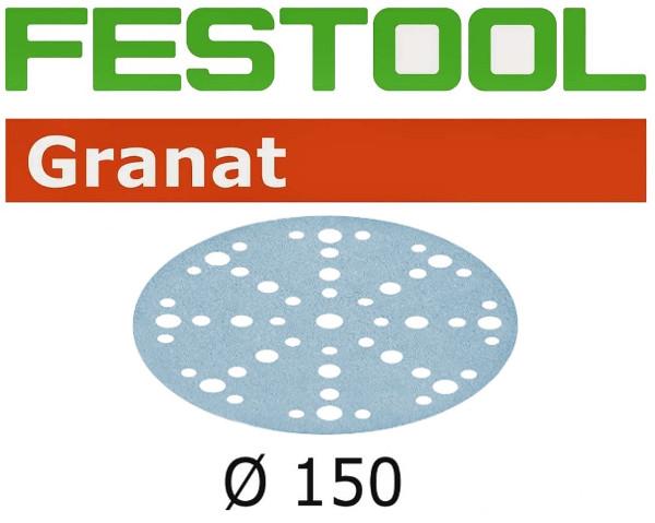 Festool Schleifscheiben STF D150/48 P320 GR/10 Granat