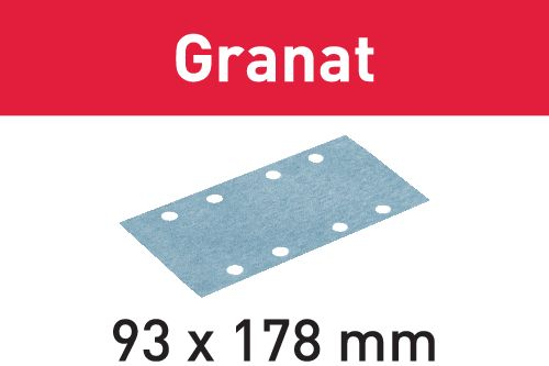 Festool Schleifstreifen STF 93X178 P60 GR/50 Granat