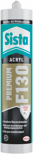 Sista F130 Acryl Premium, weiß, 300ml