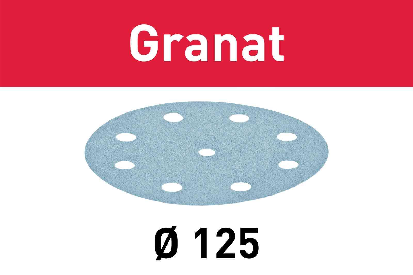 Festool Schleifscheibe Granat STF D125/8 P280 100/Pack