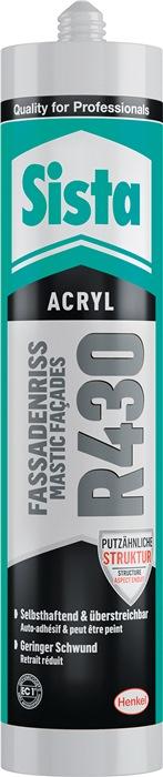 Sista R430 Acrylat-Dichtstoff, 300ml, Grob