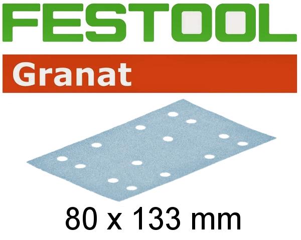 Festool Schleifstreifen STF 80x133 P80 GR/10, 497128