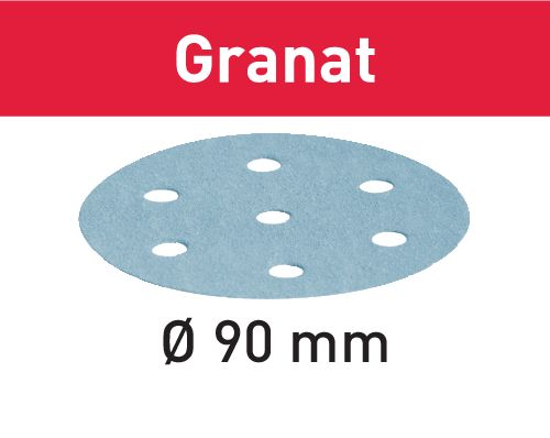 Festool Schleifscheibe STF D90/6 P120 GR/100 Granat