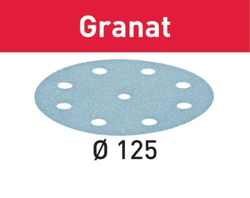 Festool Schleifscheibe STF D125/8 P80 GR/50 Granat